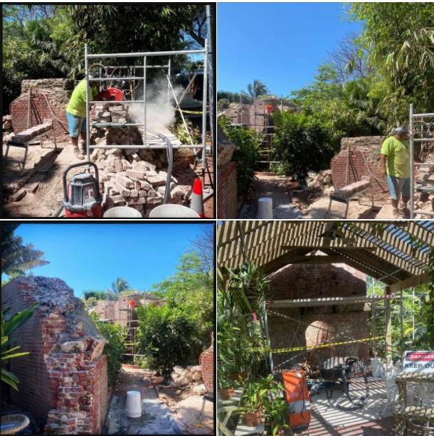 Arch Restoration work